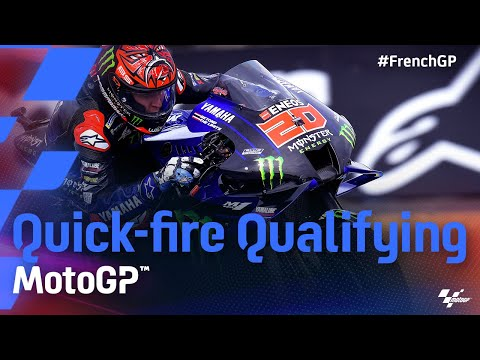 中上貴晶は7番手 MotoGP 2021 第5戦フランス 予選タイムアタックのハイライト動画