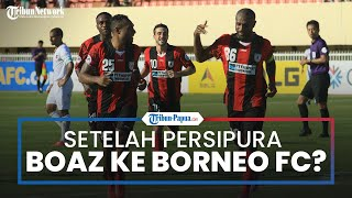 Boaz Solossa Kedapatan Follow Instagram Akun Berita Borneo FC, Sinyal Segera Merapat?