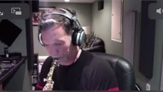 Carl Cox playing over some Metheny on his 10MFAN Virtuoso Soprano Sax Mouthpiece size 6.