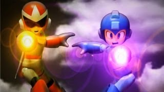 Rockman and Transformers Stop motion : Go! Rockman! 衝吧!! 洛克人 !!!