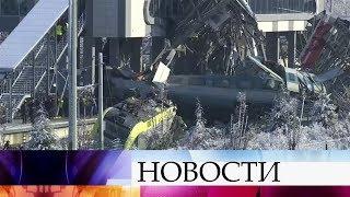 Девять человек погибли и около сорока получили ранения в железнодорожной катастрофе в Анкаре.