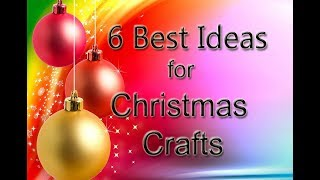 6-great-ideas-for-christmaseasy-christmas-paper-craftschristmas-decoration-ideasdiy-xmas-ideas