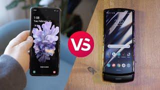 Galaxy Z Flip vs. Motorola Razr: Spec comparison