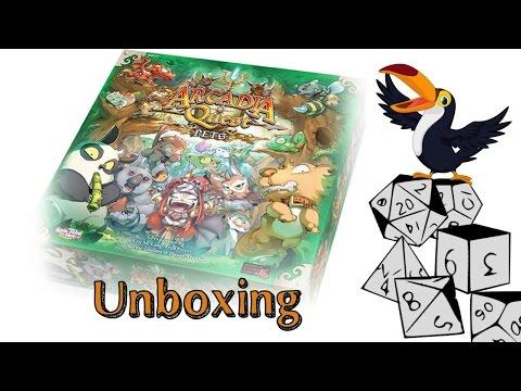 Arcadia Quest Pets Unboxing