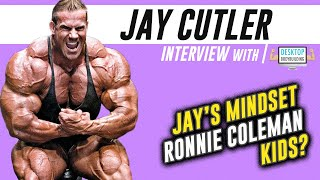 WAS THE RONNIE & JAY RIVALRY THE BEST ONE IN BODYBUILDING HISTORY? - JAY ON DESKTOP BODYBUILDING!