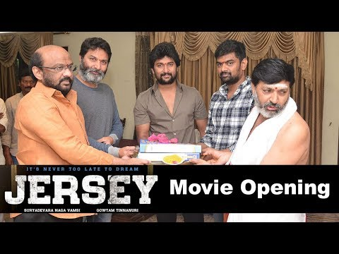 Jersey Movie Opening Pooja Ceremony