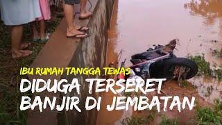 Seorang Ibu Rumah Tangga Ditemukan Tewas, Diduga Terseret Banjir dan Masuk ke Sungai Sentono