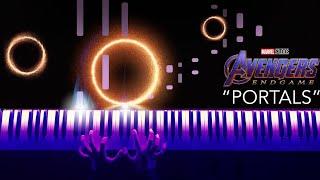 avengers endgame portals piano sheet music - TH-Clip