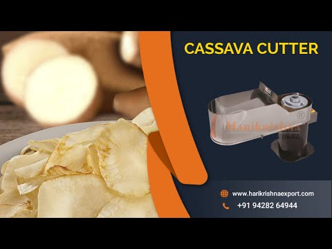 Cassava Slicer/ Sweet Potato Slicer
