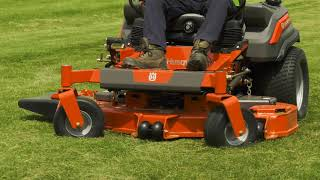 How to Use & Operate a Commercial Zero Turn Gas Lawn Mower | Husqvarna