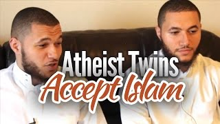 The lucky twin that found Islam...
