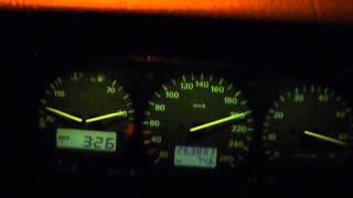 VW Corrado Vr6 2.8 0-220km/h