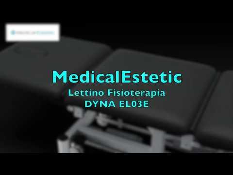 DYNA Lettino fisioterapia 3 sezioni