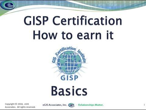 GISP Certification How to earn it basics - YouTube