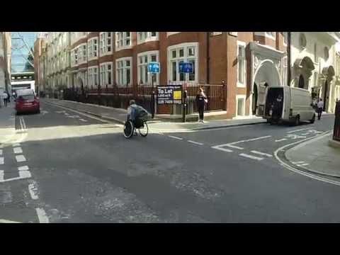 Ruller om kapp med t-banen i London