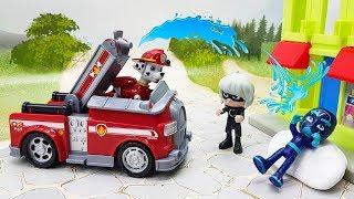 Видео для детей с игрушками Маша и Медведь и Щенячий Патруль - Невидимки! Лучший мультфильм 2018