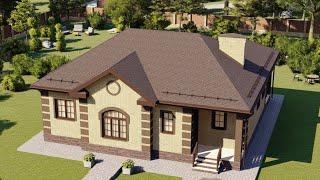 Проект дома 118-C, Площадь дома: 118 м2, Размер дома:  14x11,6 м