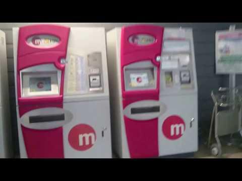 Город Валенсия. Как найти метро в аэропорту города Валенсия и купить билет.