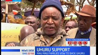Families of Maumau freedom fighters vow to back President Uhuru