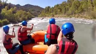 preview picture of video 'Rafting en Murillo de Gállego'