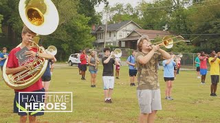 'We're all like a family': Little Rock Central High School Marching Band puts in work