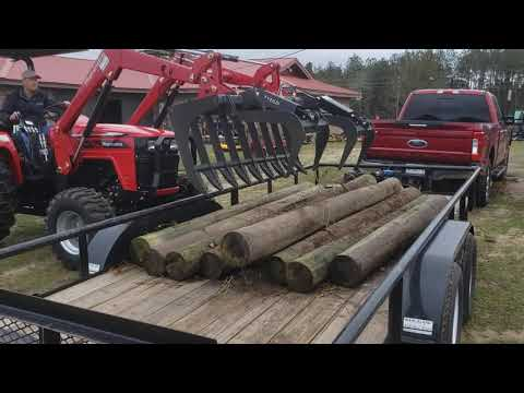 "2020 Titan Implement 48"" Root Grapple in Saucier, Mississippi - Video 1"