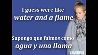 Adele - Water And A Flame ft. Daniel Merriweather  (Lyrics+Sub.)