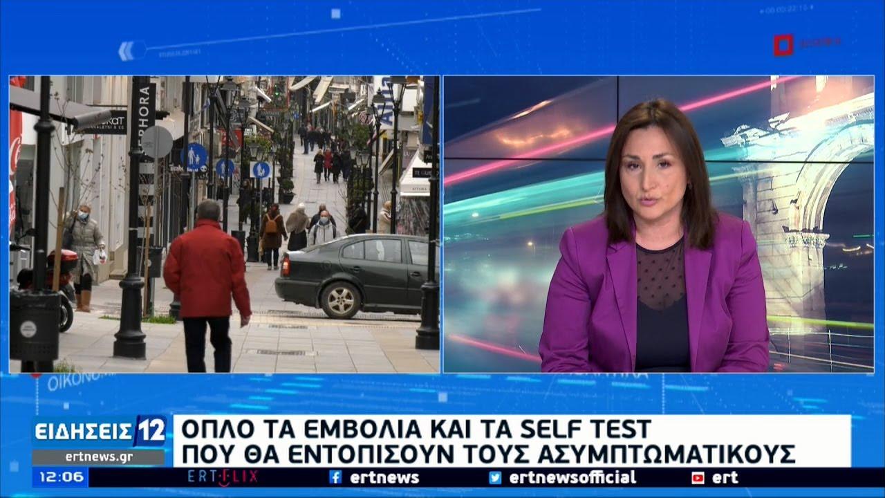 Εφημερίες αγωνίας στην Αττική: 235 εισαγωγές το τελευταίο 24ωρο | 31/03/2021 | ΕΡΤ