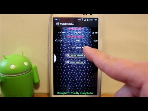 How To Install Google Wallet On The Galaxy S3 Mp3