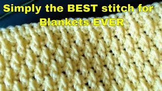 EASY Crochet Blanket  YOU WONT BELIEVE HOW EASY THIS IS...
