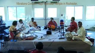 Tiruvarur Vaidyanathan Vibrations Concert in Shri. Rajarajeshwari Temple in Rochester, NY