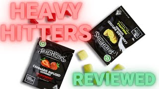 Heavy Hitters 'Ultra Potent' Weed Gummies. They'll knock you out. by  Weeats Reviews