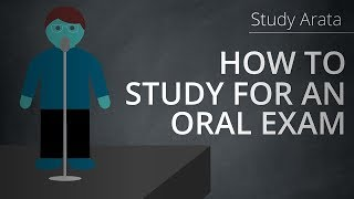 How to study for an oral exam | Study Arata 15