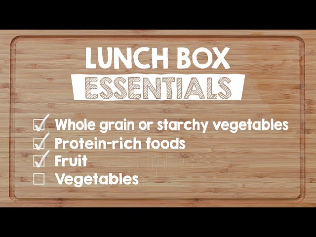 School Lunch Tips from WDG Public Health