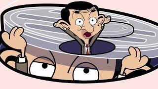 Bean In A Hole | Funny Clips | Mr Bean Cartoon World