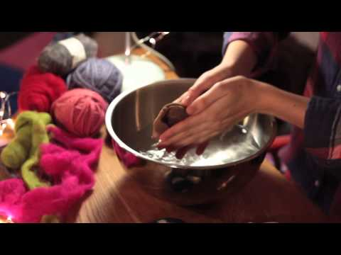 One Minute Tips: How To Make Felted Soap (with Ashley Anderson)