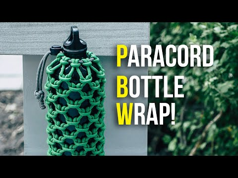 How to Make a Bottle Wrap with Paracord