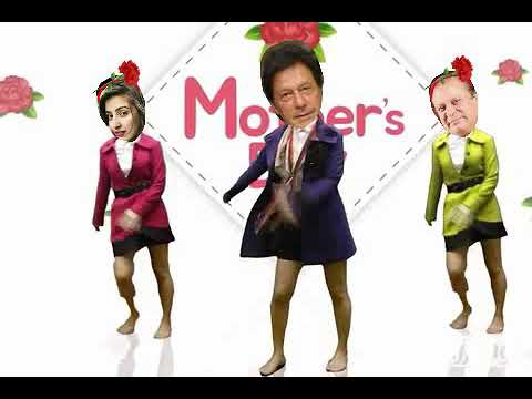 Mother day dance with imran khan and nawaz shareef