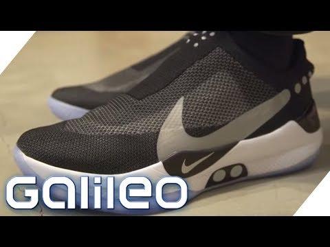 Diese Sneaker werden per App gesteuert | Galileo | ProSieben