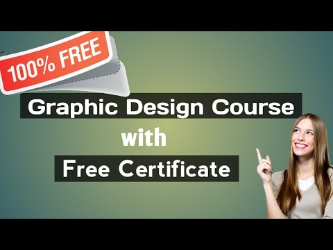 Free Graphic Design Online Course with Certificate - YouTube