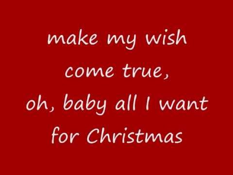 Mariah Carey - All I Want For Christmas Is You (lyrics On Screen) - Peter1988