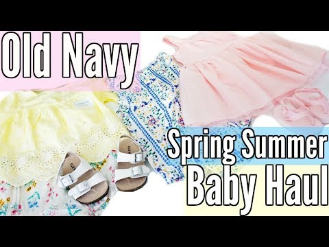 858c4e4be256 Baby Girl Clothing Haul Spring Summer 2018 Haul play