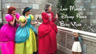 Lane Changes Disney Costumes Four Times In One Day - Magic Kingdom - Walt Disney World