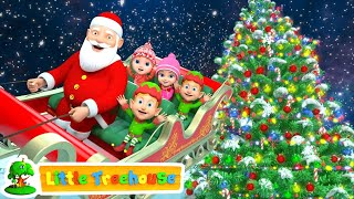 Jingle Bells | Christmas Songs | Nursery Rhymes Videos and Cartoons by Little Treehouse - Download this Video in MP3, M4A, WEBM, MP4, 3GP