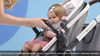Kinderkraft Veo 2in1 Babakocsi #szürke