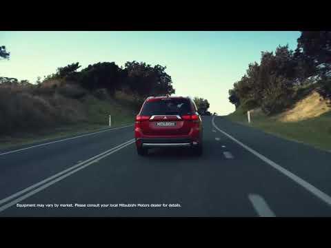 Mitsubishi  Outlander Кроссовер класса J - рекламное видео 2