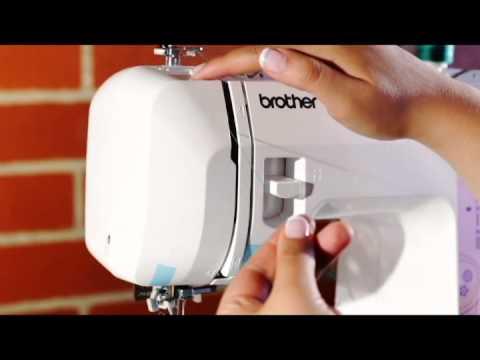Como enhebrar una maquina de coser Brother