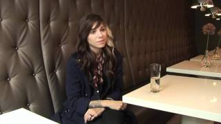 Christina Perri interview (part 1)