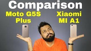 Xiaomi MI A1 Vs Moto G5S Plus Comparison - Specifications & Opinion