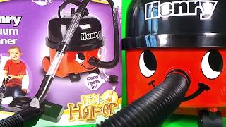 Henry Vacuum Cleaner toy by Casdon Review & unboxing